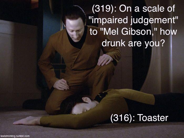 Star Trek the Next Generation Texts From Last Night Tumblr | The Mary Sue