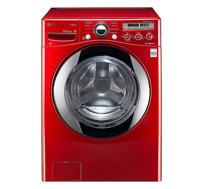 Discussion and rating of front load washers.  They also have one for dryers.  LG Front Loading Steam Washer, Remodelista