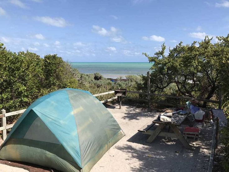 There's not a lot of love for tent campers in the Florida Keys, but there are a few campgrounds where you can enjoy the tent-camping experience. We pick the five best with a few others worth an honorable mention.