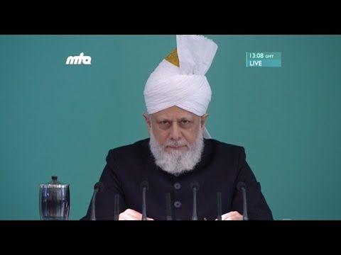 25.11.2016 hutbesi - Eşitlik, adalet ve vicdan Cuma Hutbesi 25-11-2016 - Islam Ahmadiyya