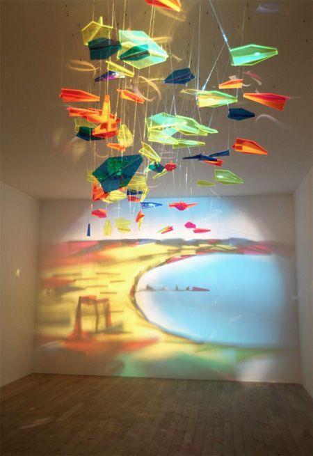 NO WAY. Amazing artwork created by shining light through carefully arranged objects. Rashad Alakbarov