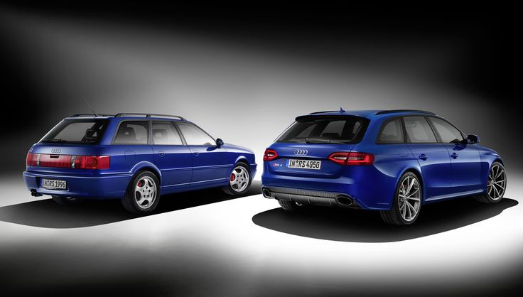 Audi Marks 20th Anniversary Of The RS 2 With New RS 4 Avant Nogaro