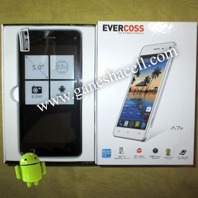 Evercoss A7R, Layar 5', Quad Core Processor
