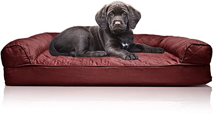 Furhaven Pet Orthopedic Living Room Sofa Style Couch Dog Bed For Dogs Cats Multiple Styles Orthopedic Dog Bed Dog Couch Bed Couch Pet Bed