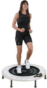 6 week Rebounding Workout- on a mini trampoline or rebounder.