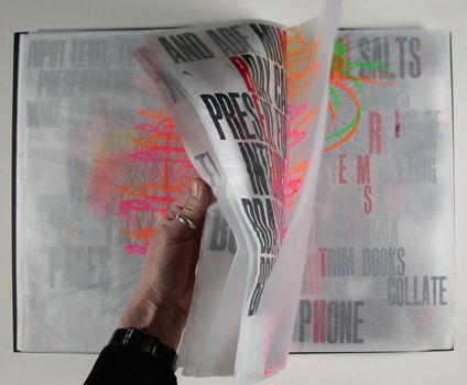 Philippa Wood :: brilliant artist book