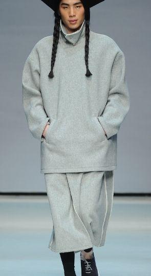 2014 seoul fashion colletion / 2014 caruso collection/ minimalism men's wear / designer Janggwanghyo / f/w