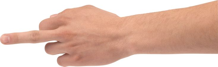 One Finger Hand Hands Png Hand Image Free Png Body Reference Image Downloads