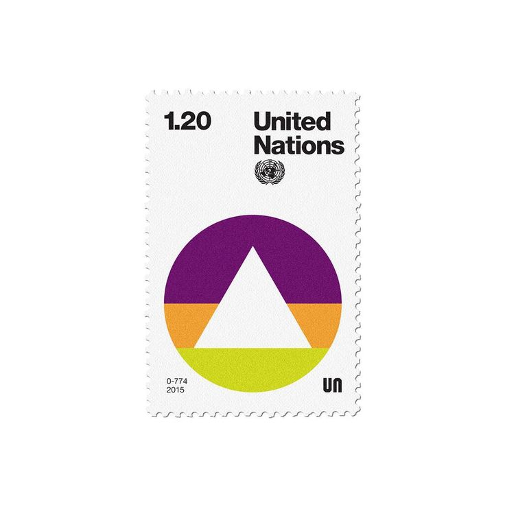 New addition to #basicstamps #unitednations #stamp #postagestamp design #typography #retro #modernism #graphicdesign #un #symbol
