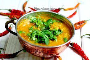 Pikantna zupa z soczewicy w indyjskim stylu