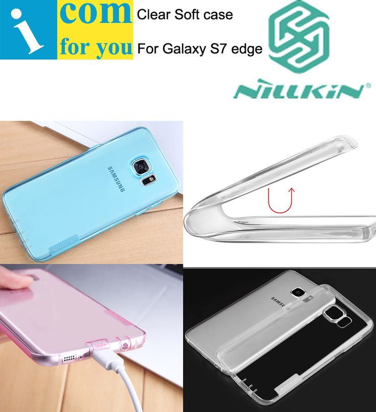 >> Click to Buy << Nillkin nature Transparent Clear Soft TPU Case Cover For Samsung Galaxy S7 Edge #Affiliate