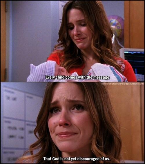Brooke Davis. Baby Lydia.
