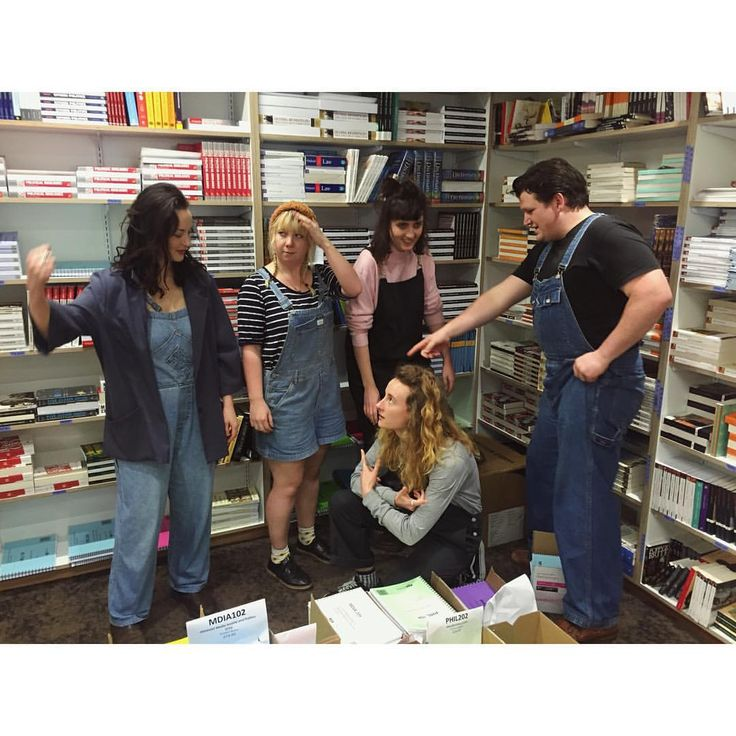 That time they turned up in overalls #vicbooks #overallthisshit