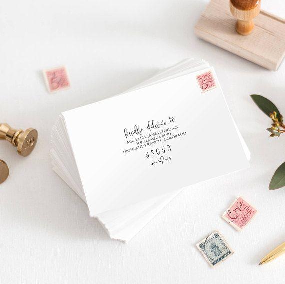 Best 25+ Addressing wedding envelopes ideas on Pinterest - a7 envelope template