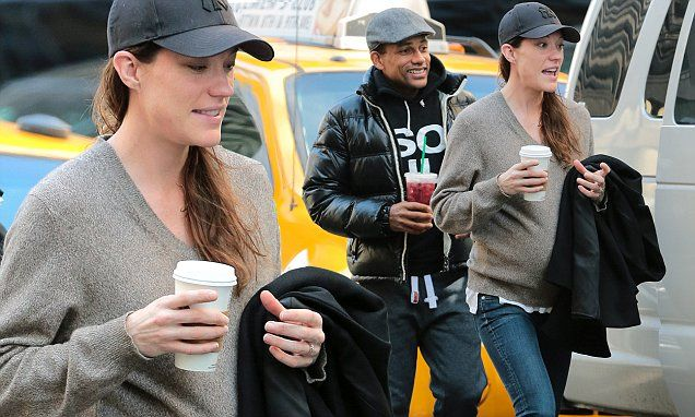 Pregnant Jennifer Carpenter and Hill Harper head off to film Limitless