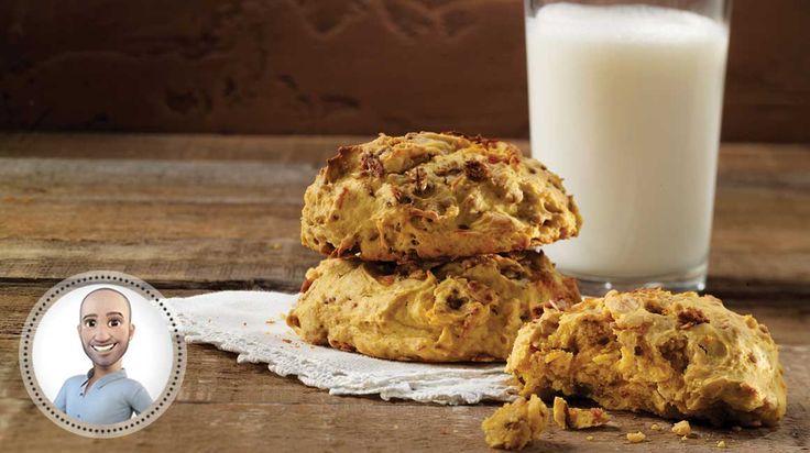 Biscuits à l'orange et à la courge de Stefano Faita
