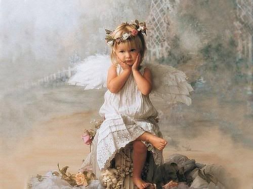 beautiful pictures of angels | http://www.oyegraphics.com/angel/sweet-baby-angel/