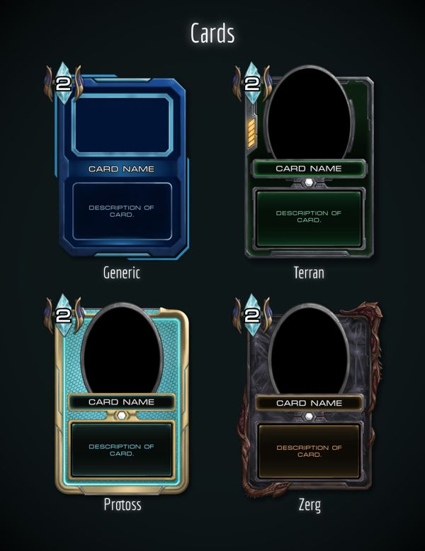 Hearthstone Starcraft 2 Skin Concept by Joseph Lamelas, via Behance