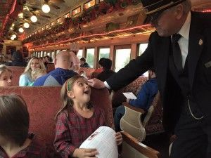 """Tickets are on sale for The Polar Express Train Ride leaving Palestine, TX for the """"North Pole"""" this November 18 - December 23!"""