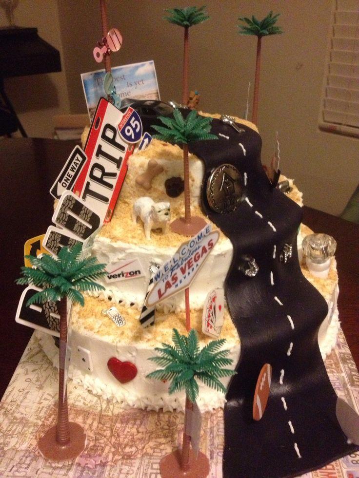 Cake Decorating Timeline Buttercream : Road Trip Timeline Cake Wedding Ideas Pinterest Trips, Timeline and Cakes