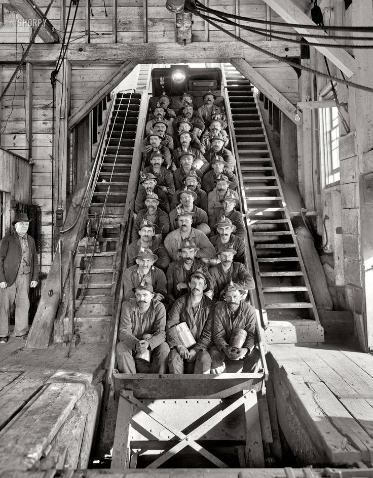 Copper miners   Calumet, Michigan, circa 1905