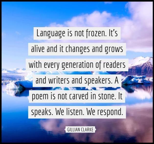 Quotable – Gillian Clarke