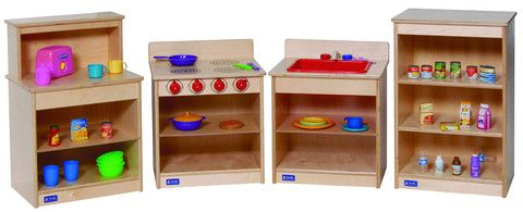 Toddler Kitchen Set | Honor Roll Childcare Supply - Early Education Furniture, Equipment and School Supplies.