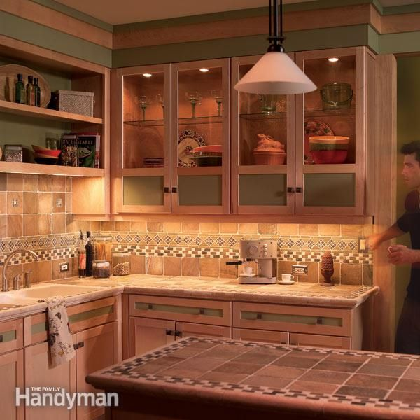 Under Kitchen Cabinet Lighting Ideas: How To Install Under Cabinet Lighting In Your Kitchen