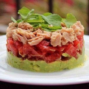 Тимбал из авокадо и тунца рецепт – испанская кухня: салаты. «Афиша-Еда»