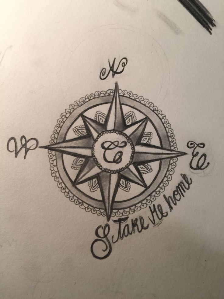 41 best tattoos compass rose gold images on pinterest for My family tattoo