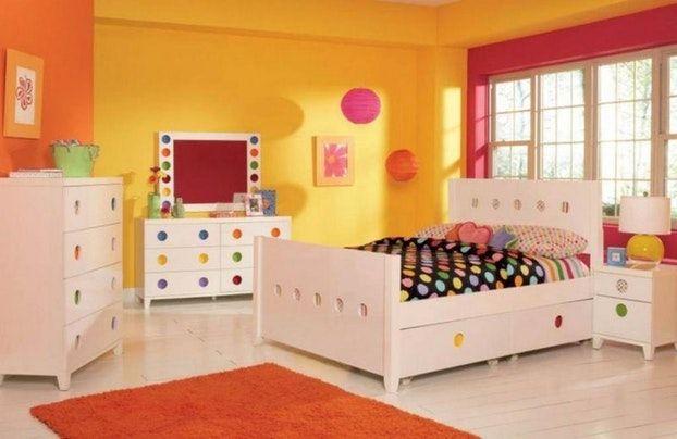 Chambre Jaune Et Rose | meilleurs decorateurs | Chambre ...