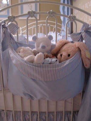 Cute toy hamper