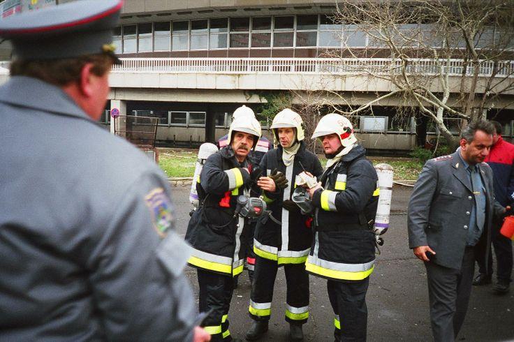 Budapest Sportcsarnok tűz - 1999. december 15.