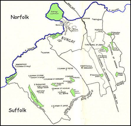 The parish contains 1694 acres, 3 roods, 9 perches of strong, but fertile land, whereof 71 acres are commons. The glebes amount to 29 acres.