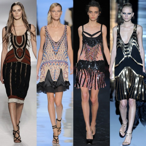 Chanel 39 S 1920s Inspired Runway Fashion Pinterest Beautiful Drop Waist Dresses And Flappers