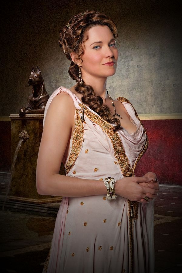 Lucy Lawless in Spartacus. How I miss Lucretia