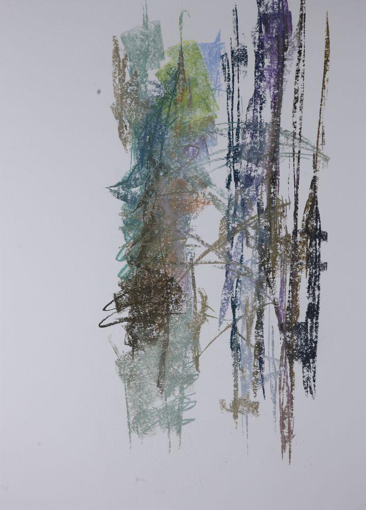 Michael Třeštík, Chaos, No. 16, 2016, pastel A1