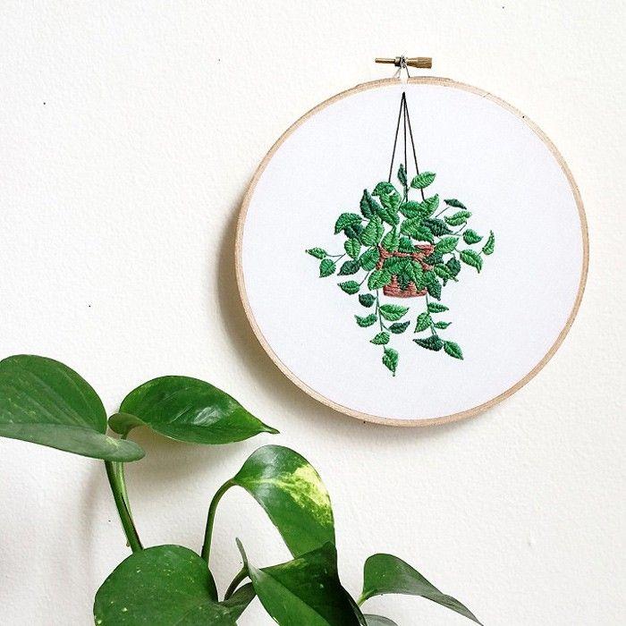 Sarah K. Benning – Embroidered Horticultural Vignettes