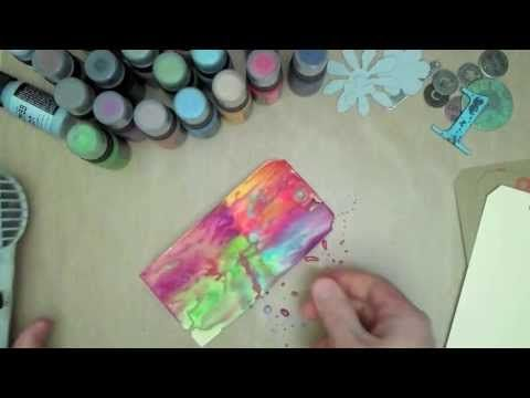 Cake Art Instant Mix Modelling Paste : 1000+ images about Art Journal Videos Volume One on Pinterest