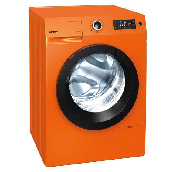 Gorenje, Freestanding Washing Machine W8543LO - Orange