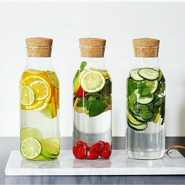 Which one would you drink first ❔☺ . . .  Follow  @infusedwaterdetox  @infusedwaterdetox . . .  #infusedwaterdetox #water #healthy #fruitinfusedwater #infusedwater #detox #fitness #weightloss #summer #refreshing #healthychoices #lifestyle #healthylife #eathealthy #fruits #berries #strawberry #healthyfood #fresh #diet