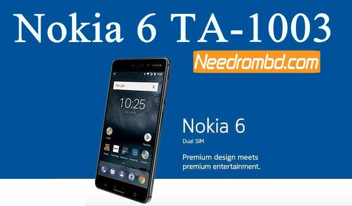 Nokia 6 TA-1003 MSM8937 7 1 1 Firmware | Smartphone Firmware | Nokia
