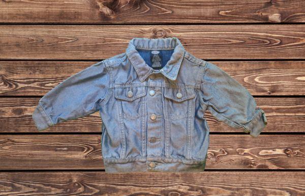Neutral Jean Jacket (Size: 2T)