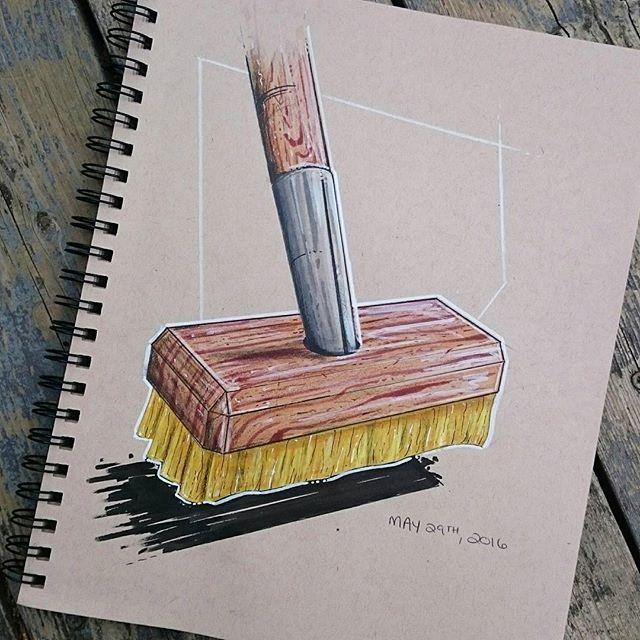 Material study #sketch #sketchbook #SketchADay #idsketching #industrialdesign…