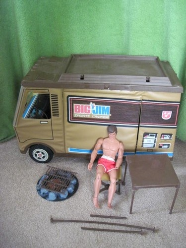 Got this for XMas one year - came with an eagle to - Vintage Big Jim camper Action Figure Lot Karate Arm Jim 1970's Toys Mattel | eBay