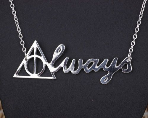 Harry Potter Always Necklace Deathly Hallows Necklace Patronus ...