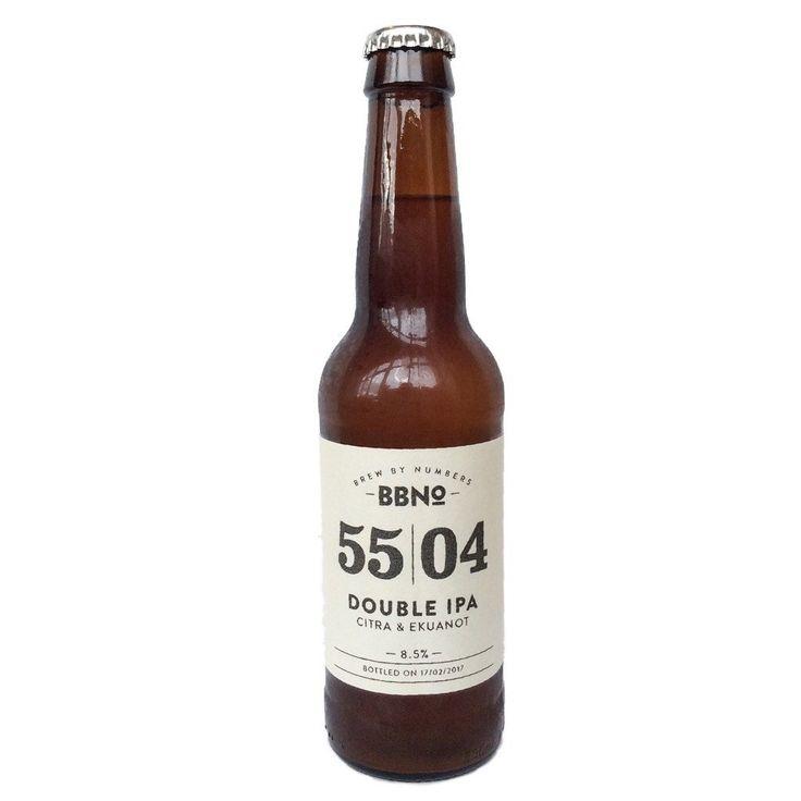 Brew By Numbers Double IPA Citra & Ekuanot 8,5% (330ml) -Hop Burns & Noir