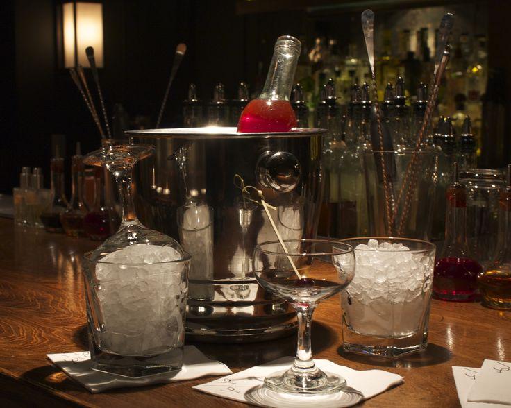 high end cocktails low key bar