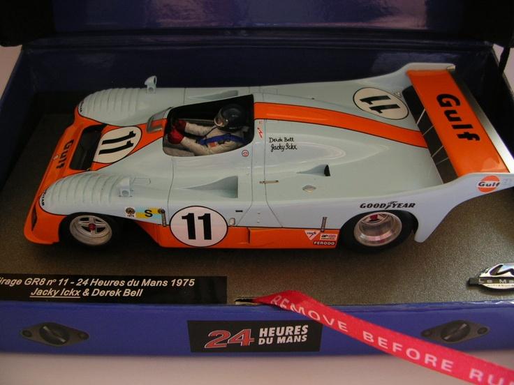 Slot Cars and Diecast Vehicles Online Shop - Mirage GR8 No.11 Le Mans Winner