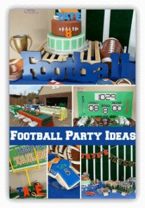 Football 8th Birthday Party